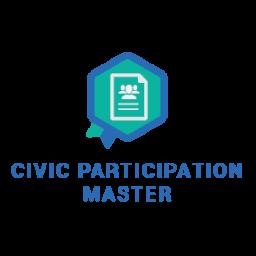 Esperto della Partecipazione Civica - Metabadge